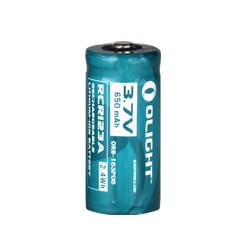 Olight 16340 650mAh Battery